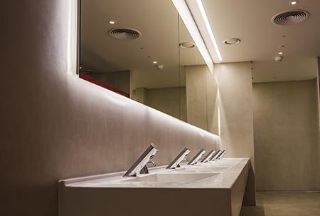 commercial bathroom sinks